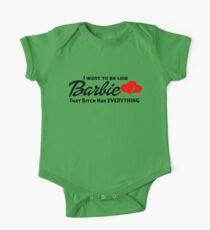 I WANT TO BE LIKE BARBIE Kids Clothes