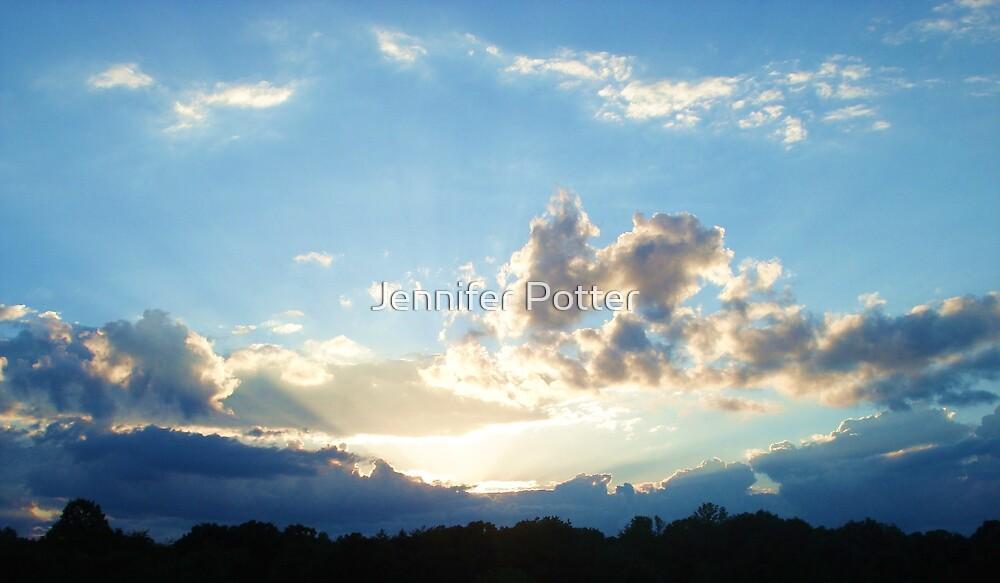 Blue Sun Down by Jennifer Potter