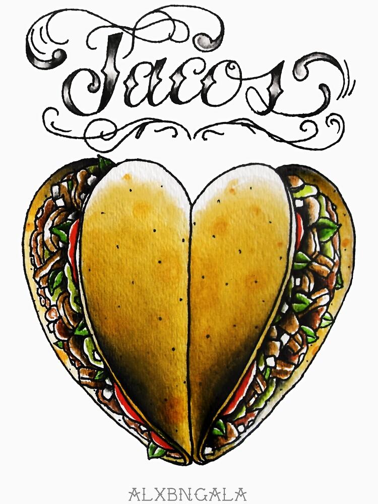 TACOS HEART by alxbngala