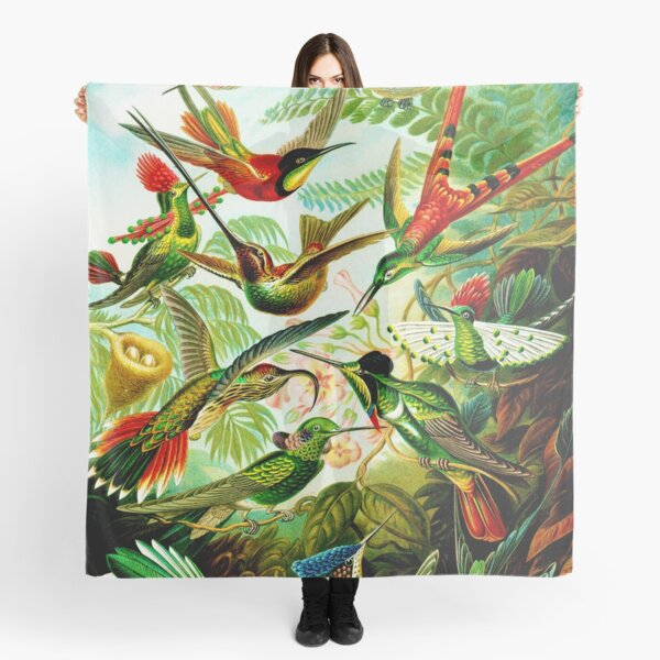 HD Art Forms in Nature - Amazing HD vintage design number 99 Scarf