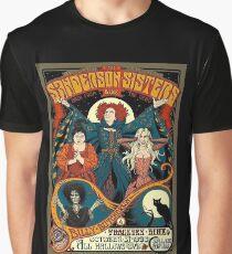 Sanderson Sisters Tour Poster Graphic T-Shirt