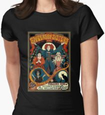 Sanderson Sisters Tour Poster Women's Fitted T-Shirt