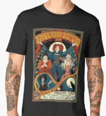 Sanderson Sisters Tour Poster Men's Premium T-Shirt