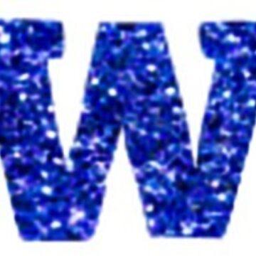 #DWTS Blue Glitter by apritch
