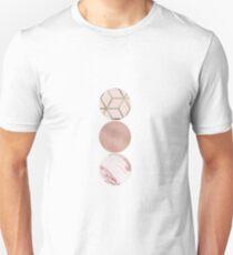 Rose grunge - circles III T-Shirt