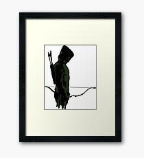 Green Arrow - Oliver Queen Framed Print