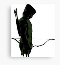 Green Arrow - Oliver Queen Canvas Print