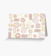 biscuit barrel Greeting Card