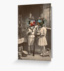 SURREAL HOLIDAY Greeting Card