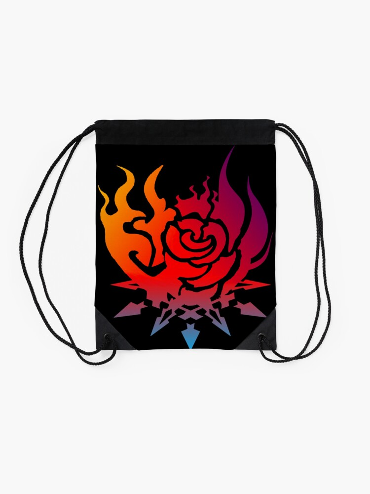 Vista alternativa de Mochila saco RWBY Team Symbol (Color)