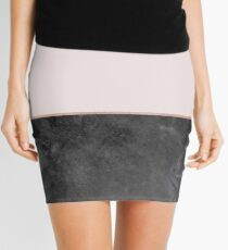 Rose grunge - two toned II Mini Skirt
