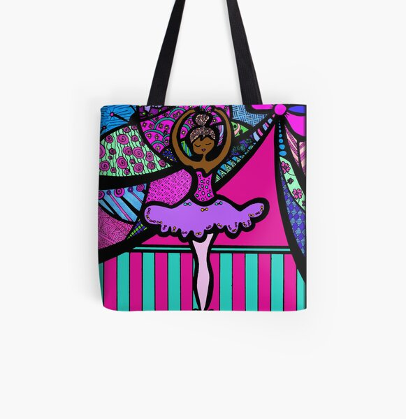 Releve All Over Print Tote Bag