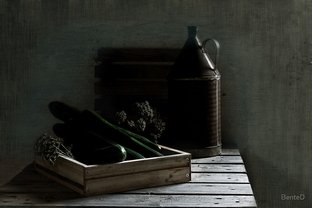 Season For Cucumbers by BenteD