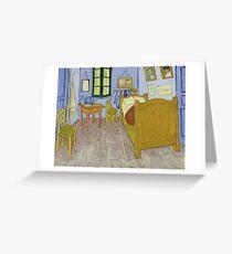 Vincent van Gogh - Bedroom in Arles Greeting Card