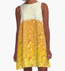 Lagerbier A-Linien Kleid