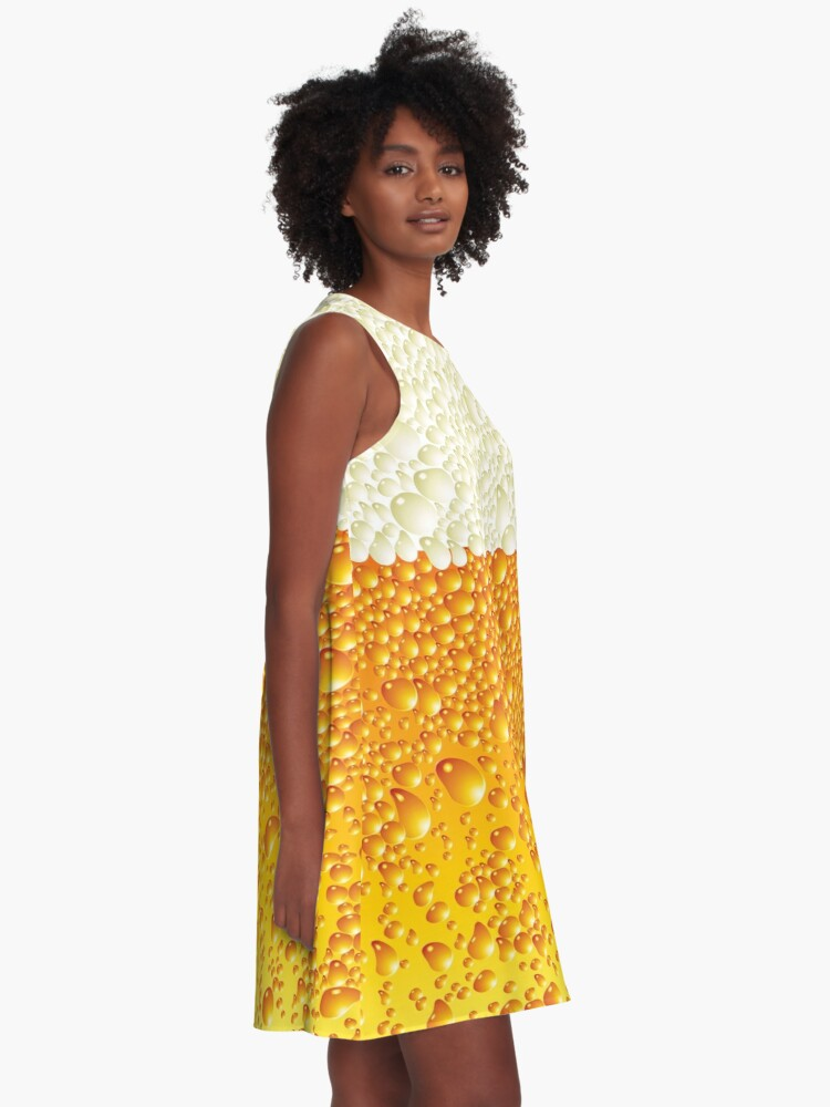 Alternate view of Beer - Lager - Pale Ale A-Line Dress