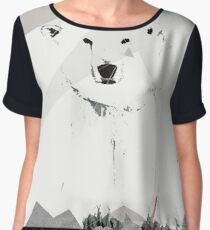 Save the Polar Bear Women's Chiffon Top