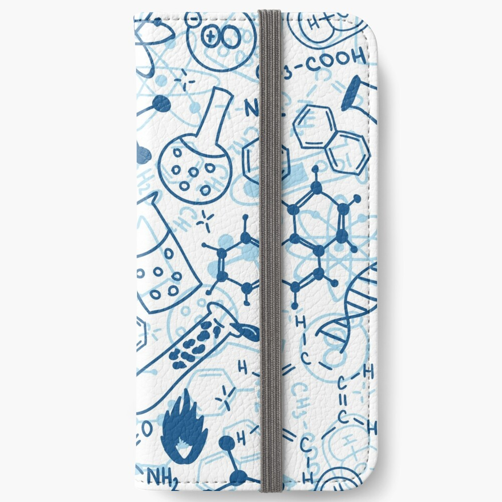 Chemistry iPhone Wallet