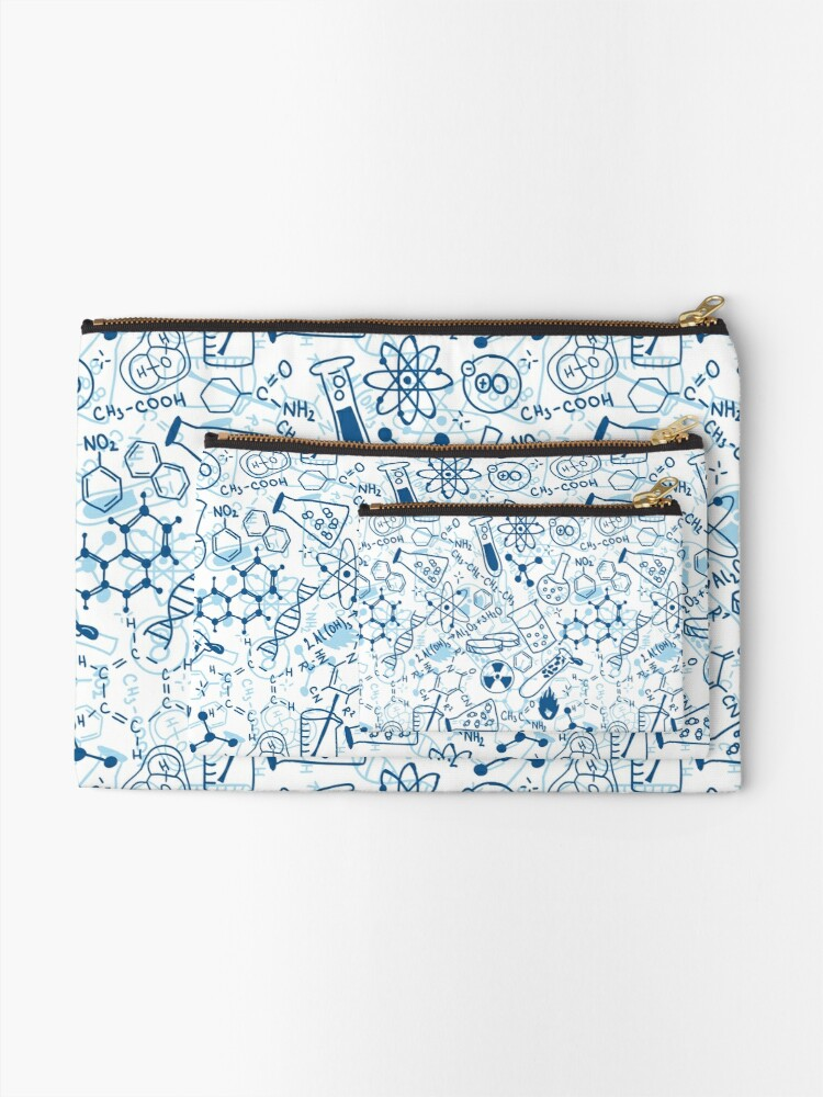 Alternate view of Chemistry Zipper Pouch