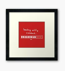 -witty- Framed Print