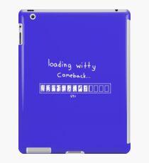 -witty- iPad Case/Skin