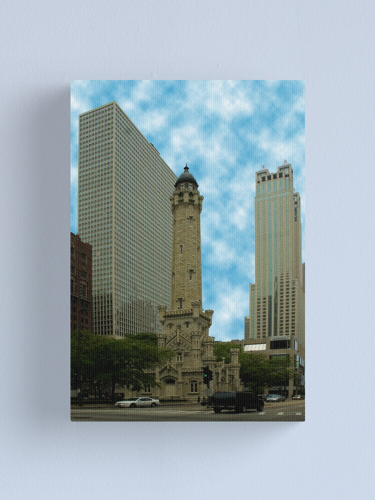 Alternate view of Old versus New Canvas Print
