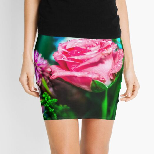 Magical garden Mini Skirt
