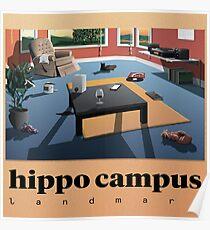 Hippo Campus (MN) TOUR 2017 Poster