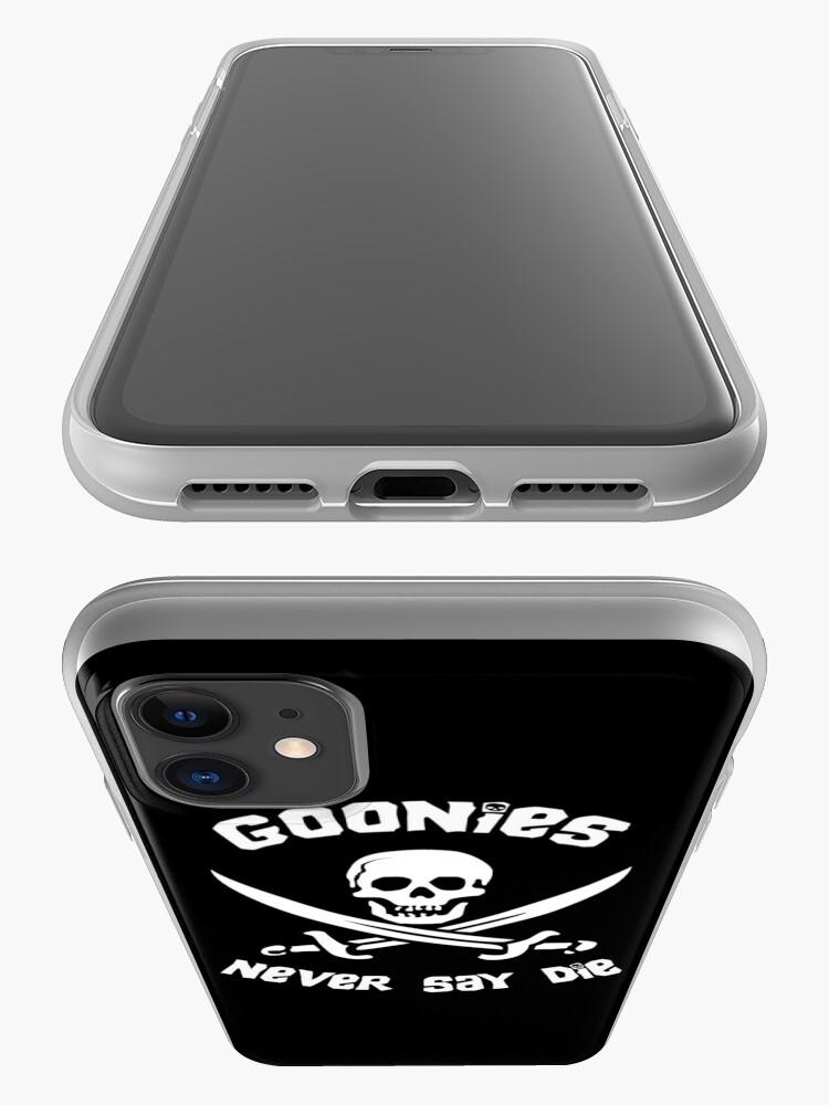 Alternative Ansicht von Goonies sagen nie sterben iPhone-Hülle & Cover