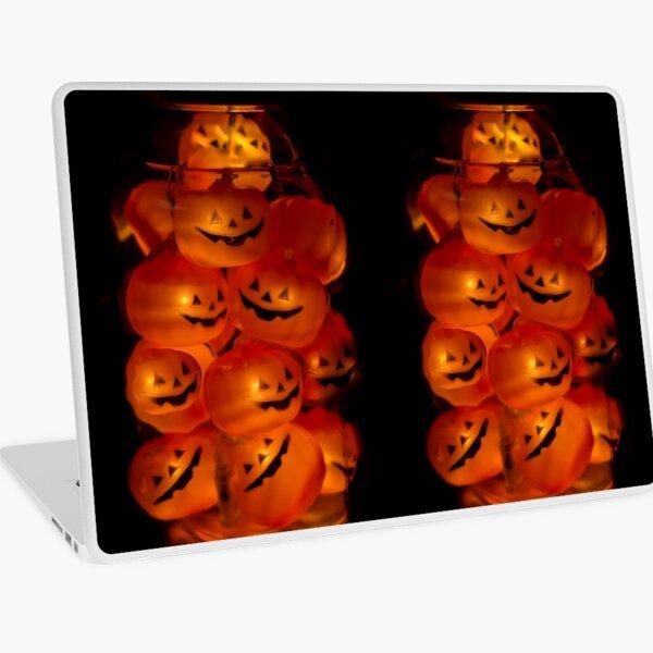 Halloween Pumkins Laptop Skin