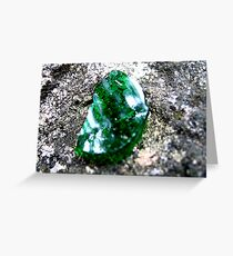 Enchanted Forest - Emerald of the Trolls Greeting Card