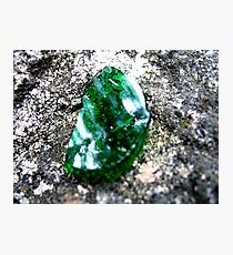Enchanted Forest - Emerald of the Trolls Photographic Print
