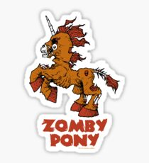 Zomby Pony Sticker