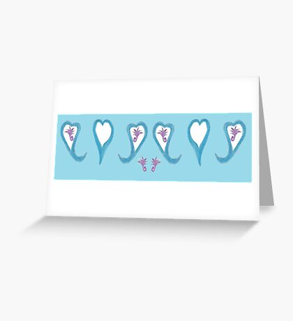Love Search Greeting Card