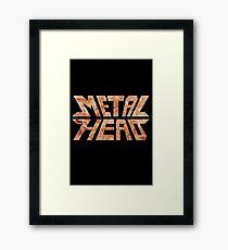 Rusty MetalHead Framed Print