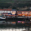 Whitby, River Esk, Twilight by dougie1