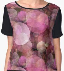 Abstract Bubble Patterns Women's Chiffon Top