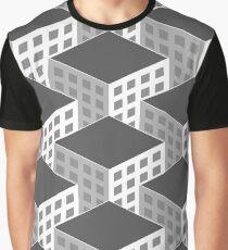 Isometric Skyscrapers Graphic T-Shirt