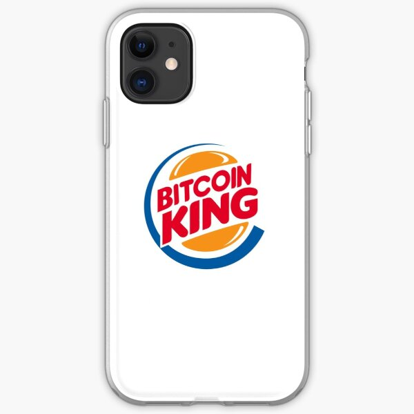 The Original Bitcoin King iPhone Soft Case