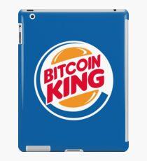Der ursprüngliche Bitcoin-König iPad-Hülle & Skin