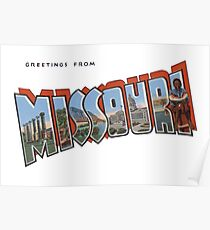 Greetings from Missouri 2b Poster
