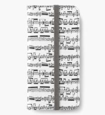 Sheet Music iPhone Wallet/Case/Skin