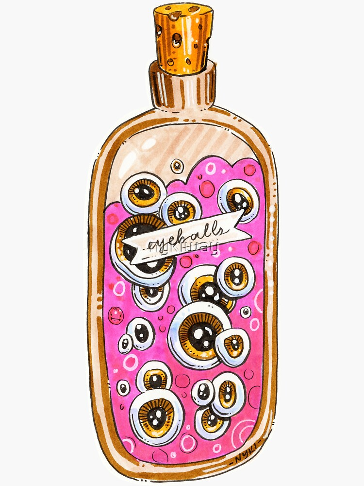 Just a Nice Ole' Bottle of Eyeballs by nykiway