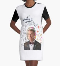 What Would Bill Nye Do? Graphic T-Shirt Dress