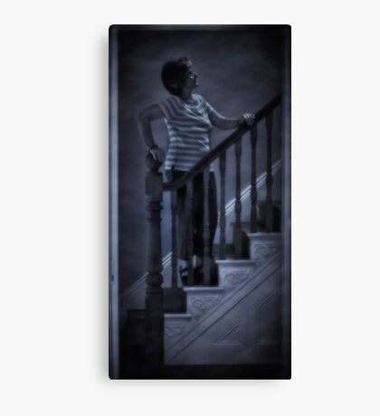 Is anybody there ? Canvas Print