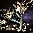 Harbour night by Una Bazdar
