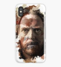 Paint-Stroked Portrait of Musician and Comedian, Tim Minchin iPhone Case/Skin