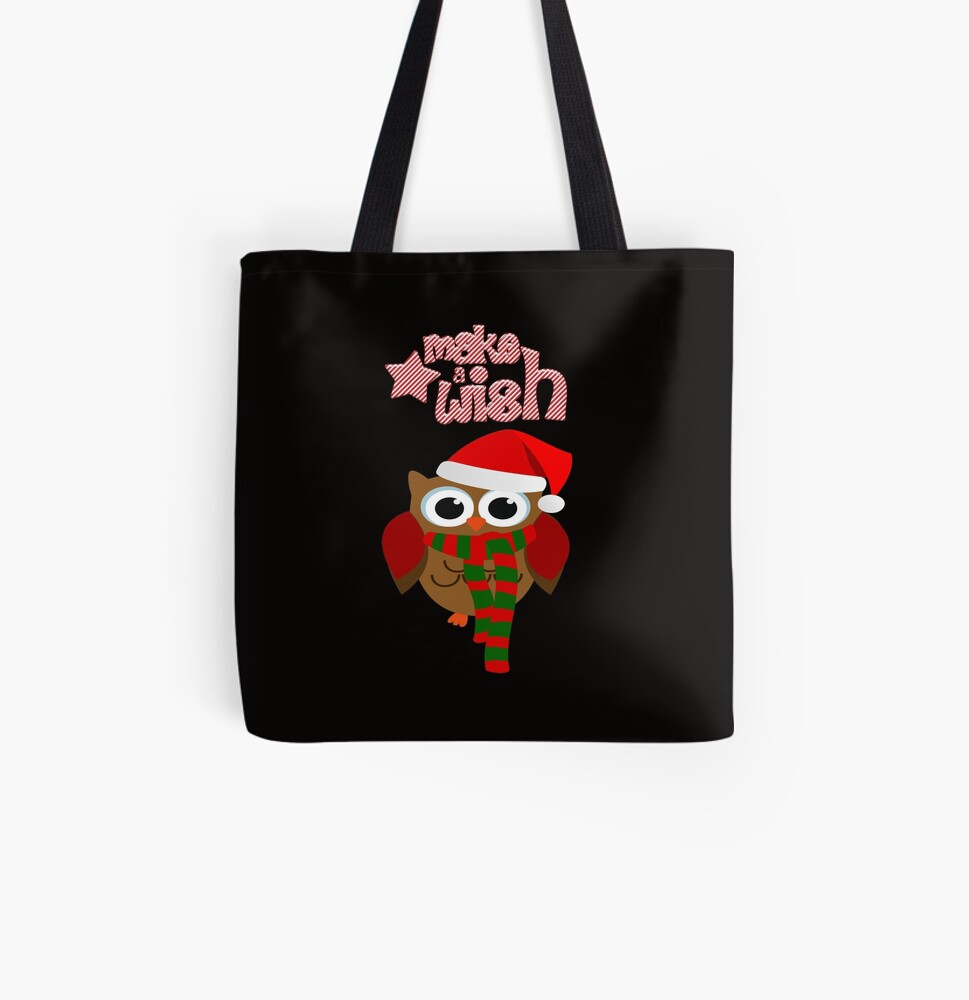 Red Owl Design Small Shopping Bag Brand New