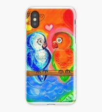 Lovebird Lagoon iPhone Case/Skin