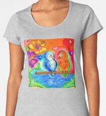 Lovebird Lagoon Women's Premium T-Shirt